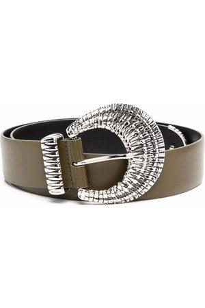 Alberta Ferretti Buckled leather belt
