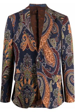 Etro Paisley pattern blazer