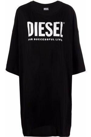 Diesel Logo-print oversized T-shirt dress