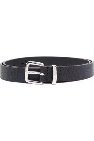 Diesel Engraved-logo buckle belt