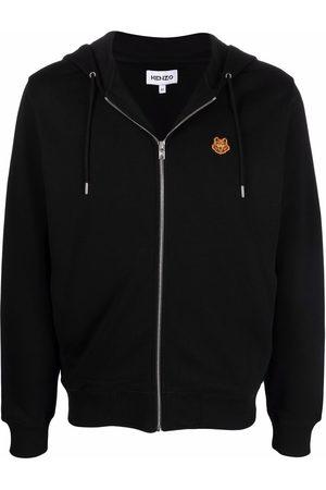 Kenzo Tiger-motif zipped hoodie