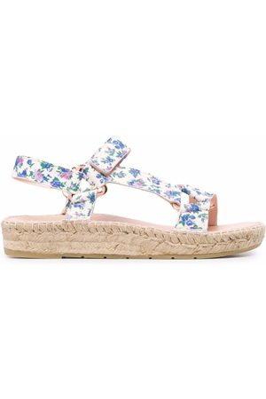 MANEBI X LoveShackFancy hiking sandals