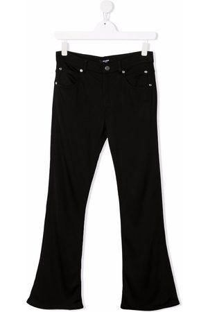 Balmain TEEN flared mid-rise trousers