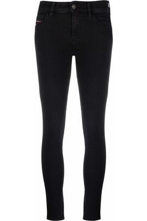 Diesel Slandy mid-rise super-skinny jeans