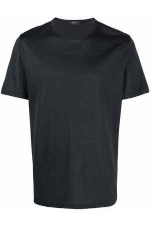 THEORY Short sleeved cotton T-shirt