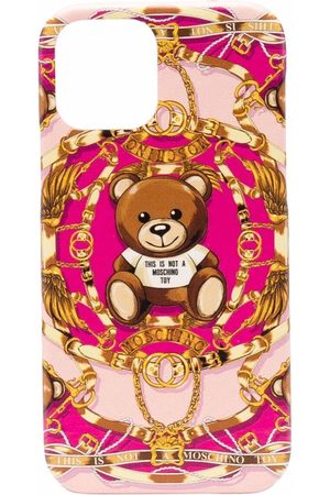 Moschino Women Phones Cases - Bear-motif iPhone 12 Pro case