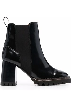 See by Chloé Women Ankle Boots - Chunky heel ankle boots