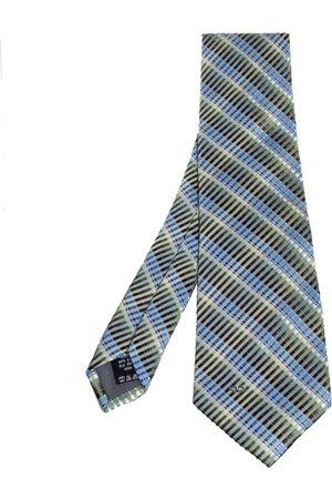 VALENTINO Men Neckties - Striped Jacquard Silk Tie