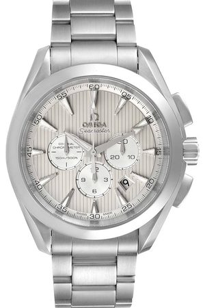 Omega Off Stainless Steel Seamaster Aqua Terra Co-Axial Chrono 231.10.44.50.09.001 Men's Wristwatch 44 MM