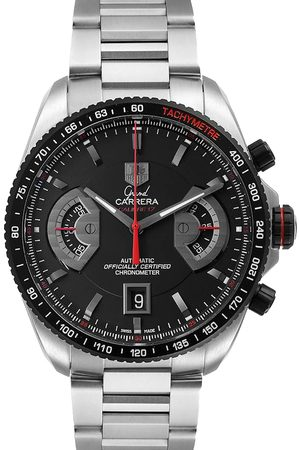 Tag Heuer Stainless Steel Grand Carrera Automatic CAV511C Men's Wristwatch 43 MM