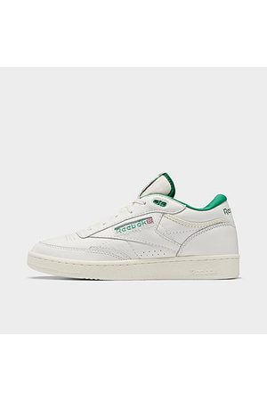 Reebok Men's Club C Mid 2 Casual Shoes in /Chalk Size 8.0 Leather