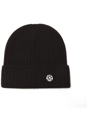 Le Mont St Michel Gigi Logo-patch Cashmere Beanie Hat - Womens