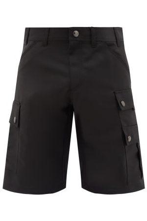 Burberry Zander Mohair-blend Cargo Shorts - Mens