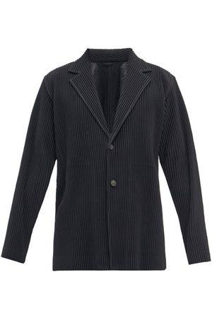 HOMME PLISSÉ ISSEY MIYAKE Men Blazers - Technical-pleated Suit Jacket - Mens