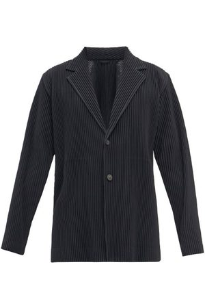 HOMME PLISSÉ ISSEY MIYAKE Technical-pleated Suit Jacket - Mens