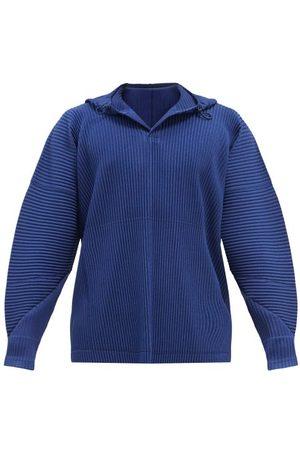HOMME PLISSÉ ISSEY MIYAKE Zip-through Technical-pleated Hooded Sweatshirt - Mens