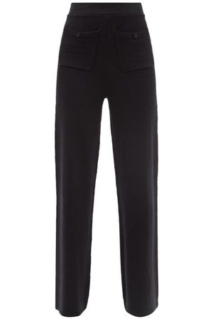 JoosTricot Linen-blend Knit Wide-leg Trousers - Womens