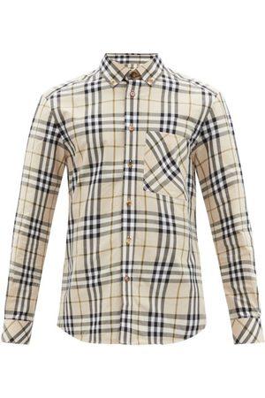 Burberry Causey Vintage-check Cotton Shirt - Mens