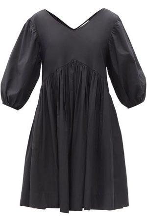 MERLETTE Miller V-neck Cotton Dress - Womens