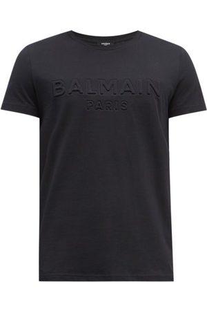 Balmain Men T-shirts - Logo-embossed Cotton-jersey T-shirt - Mens