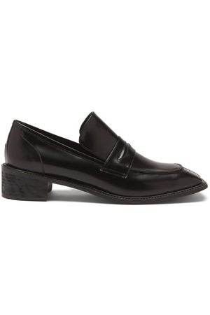 OSOI Derrick Square-toe Leather Loafers - Womens