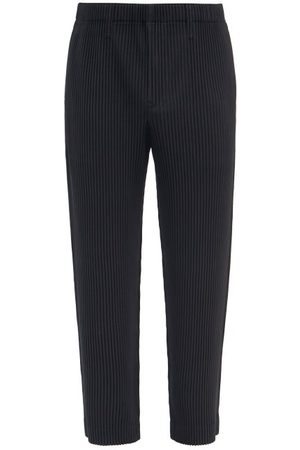 HOMME PLISSÉ ISSEY MIYAKE Technical-pleated Straight-leg Trousers - Mens