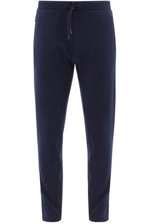 Iffley Road Men Sweatpants - Royston Jersey Track Pants - Mens - Navy