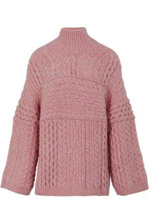Nanushka Raw high neck sweater
