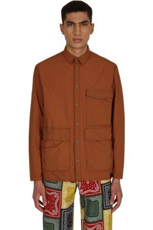 Gramicci Packable utility shirt MOCHA L