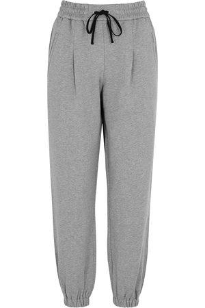 3.1 Phillip Lim Grey mélange cotton sweatpants