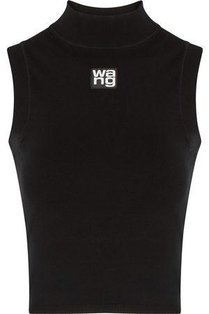 Alexander Wang Logo stretch-knit tank