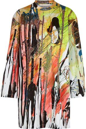Christopher Kane Mindscape printed cotton-jersey T-shirt dress