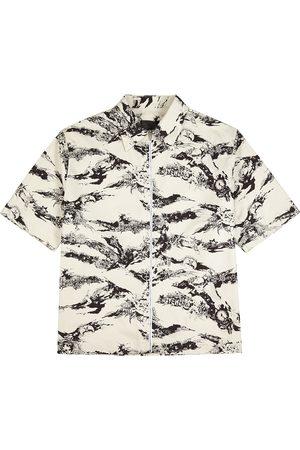 Givenchy Off- printed cotton shirt
