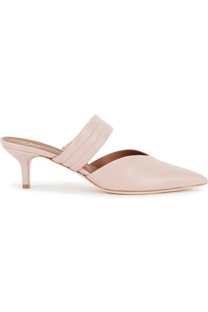 MALONE SOULIERS Mia 45 light leather mules