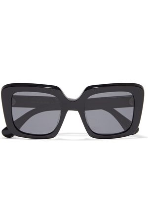 OLIVER PEOPLES Women Square - Woman Franca Oversized Square-frame Acetate Sunglasses Size