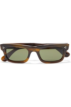 OLIVER PEOPLES Woman Jaye Rectangle-frame Acetate Sunglasses Size