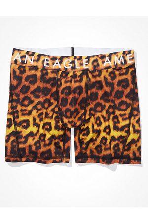 American Eagle Outfitters O Cheetah 4.5 Flex Boxer Brief Men's XS