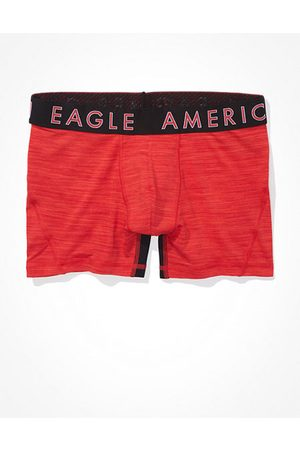 American Eagle Outfitters Space Dye Mesh 4.5 Classic Boxer Brief Men's XS
