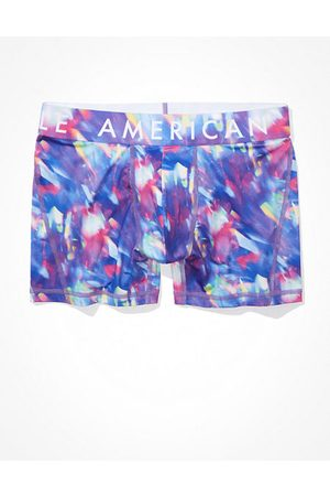 American Eagle Outfitters O Hologram 4.5 Flex Boxer Brief Men's XS
