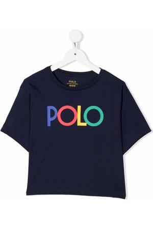 Ralph Lauren Kids Logo-print cotton T-shirt