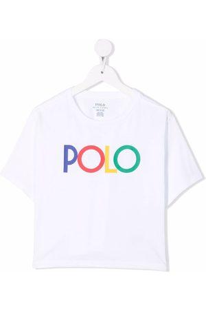 Ralph Lauren Girls T-shirts - Logo-print cotton T-shirt