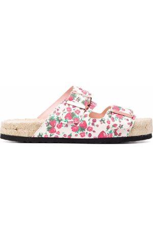 MANEBI Women Sandals - X LoveShackFancy Nordic sandals - Neutrals