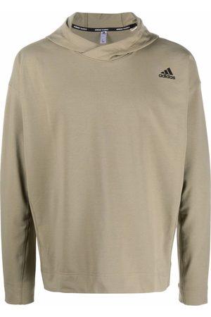 adidas Men Hoodies - Logo-print pullover hoodie