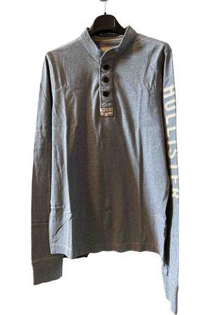 Hollister Grey Cotton Knitwear & Sweatshirts