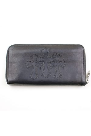 CHROME HEARTS Leather Small Bags\, Wallets & Cases