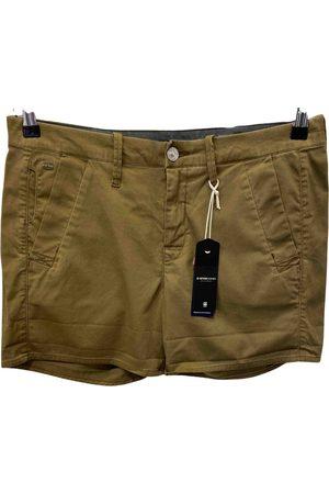 G-Star Khaki Cotton Shorts