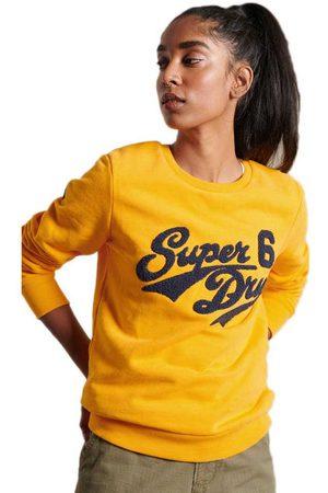 Superdry Collegiate Chenille Sweatshirt S Utah Gold