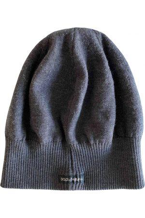 Dolce & Gabbana Grey Wool Hats & Pull ON Hats