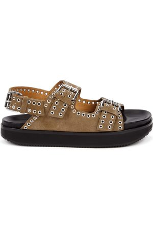 Isabel Marant Ophie studded suede sandals