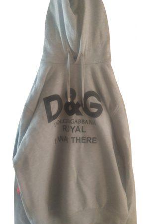 Dolce & Gabbana Grey Cotton Knitwear & Sweatshirt